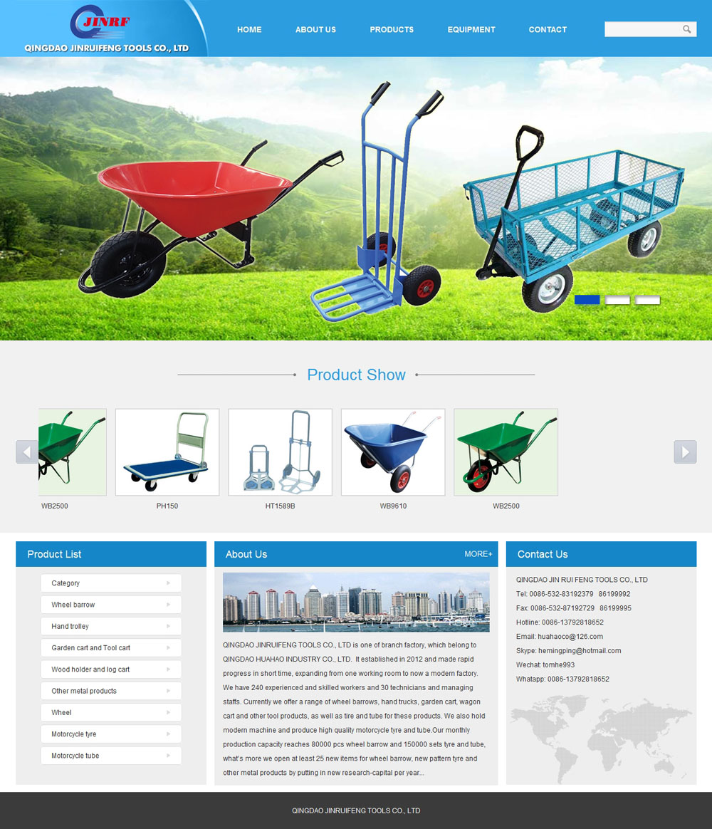 QINGDAO JINRUIFENG TOOLS CO., LTD
